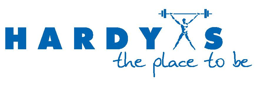 LOGO HARDYS the place to be